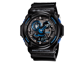 CASIO G-SHOCK GA-303B-1AJR 30th Anniversary Vol.2 Initial Blue Free Shipping for sale - 01