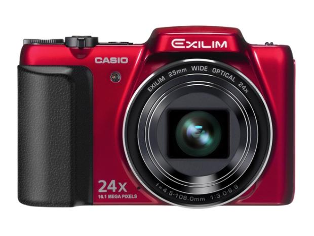 Casio Ex H50rd Digital Camera 24x Exilim 161mp Ex H50 Red