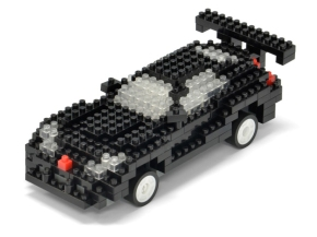 Tsuku RC Building Blocks USB Radio Control Sport Car BLACK for iPhone iPad for Sale - 01