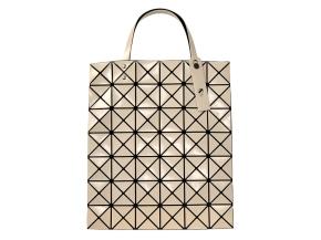 BAO BAO ISSEY MIYAKE Tote bag BILBAO LUCENT BASICS 34 x 40cm Ivory Beige JAPAN for Sale - 01