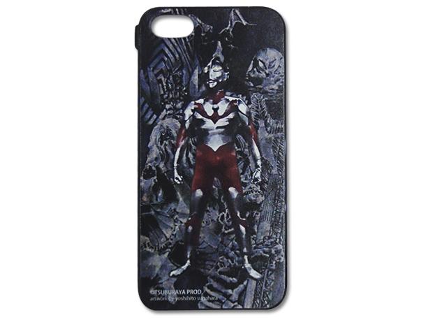 Ultraman iPhone 5 Hard Case Illustrator Yoshihito Sugawara Polycarbonate Free Shipping JAPAN for Sale - 01
