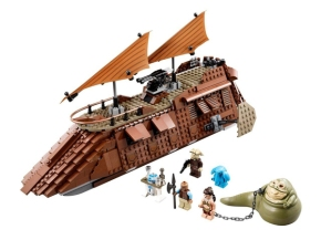 LEGO STAR WARS Jabba's Sail Barge TM 75020 from JAPAN for Sale - 01