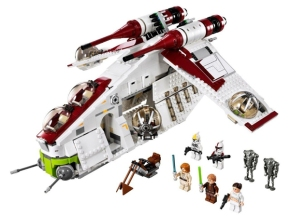 LEGO STAR WARS Republic Gunship TM 75021 from JAPAN for Sale - 01