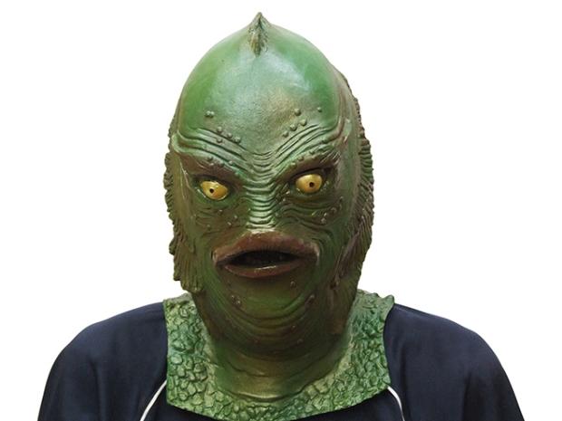 Merman Sea Monster Mask Costume Cosplay Halloween Party