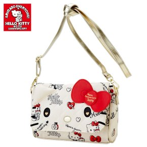 Hello Kitty 40th Anniversary 40th Hug Shoulder Bag SANRIO JAPAN For Sale - 01
