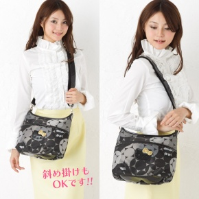 SAVOY x Hello Kitty Shoulder Bag Jacquard SANRIO JAPAN For Sale - 01