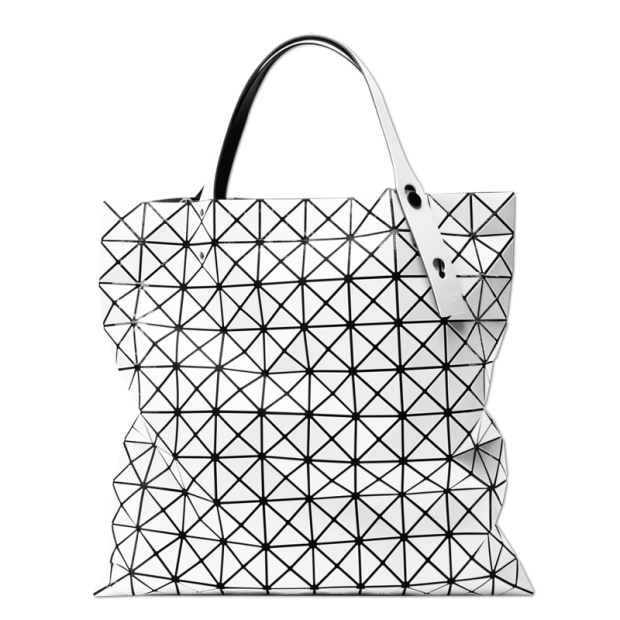 048bbc176c66 BAO BAO ISSEY MIYAKE Tote bag BILBAO PRISM BASICS BB55AG043 White JAPAN For  Sale - 01