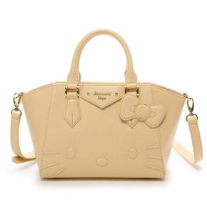 Hello Kitty x Samantha Thavasa Vega Azayle Shoulder Bag Handbag Beige JAPAN For Sale - 01
