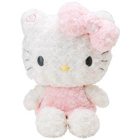 Hello Kitty Plush Doll Rose Boa Doll M Size SANRIO JAPAN For Sale - 01