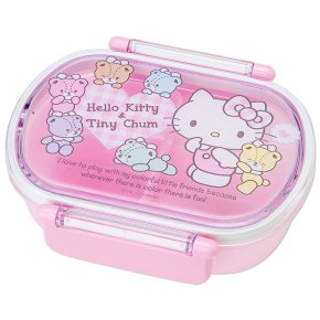 Hello Kitty x Tiny Chum Bento Lunch Case Lunchbox Tiffin Box DX SANRIO JAPAN For Sale - 01
