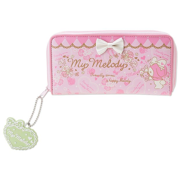 My Melody Long Wallet SANRIO JAPAN Logo For Sale - 01