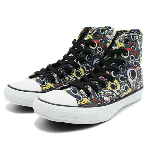 Converse All Star Chuck Taylor Taro Okamoto EY HI 2014 Limited Model Eyes JAPAN For Sale - 01