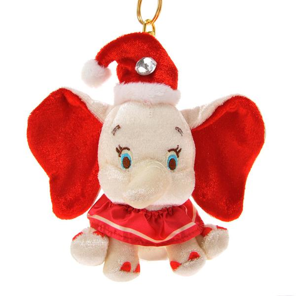 Dumbo Christmas Plush Doll Key Chain DISNEY STORE JAPAN Online Shop / Online Store
